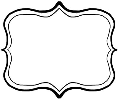 sophisticated frame cliparts free download clip art