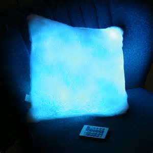 color changing pillow gadgetsremote controlled color changing moonlight