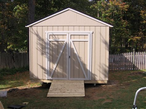 How To Build Skids For A Shed by How To Build A Shed On Skids Shed Blueprints