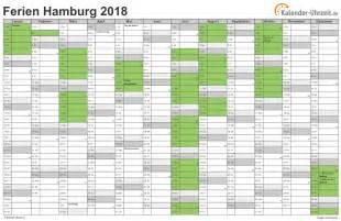 Kalender 2018 Mit Feiertagen Und Ferien Ferien Hamburg 2018 Ferienkalender Zum Ausdrucken