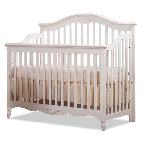White Crib Convertible 86 Antique White Cribs Convertible Convertible Crib In Antique Linen White Zoom Actual