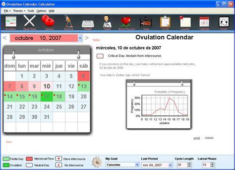 Calendars Days Calculator Ovulation Calendar Calculator