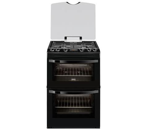 Dapur Gas Oven Zanussi zanussi zcg63330ba gas cooker black black bluewater