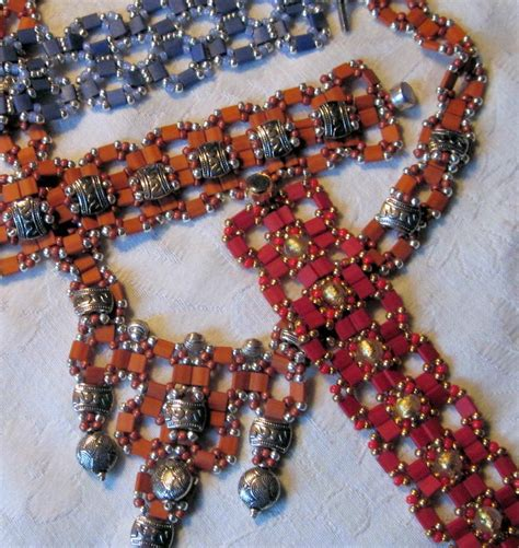 tila bead necklace patterns 1000 images about tila bead designs on
