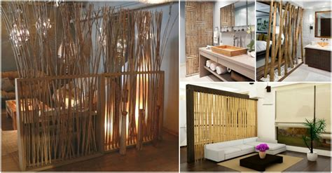 bamboo room dividers bamboo room dividers for a warm look of your home