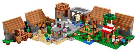 lego waterfall tutorial lego minecraft the village 21128 set revealed photos