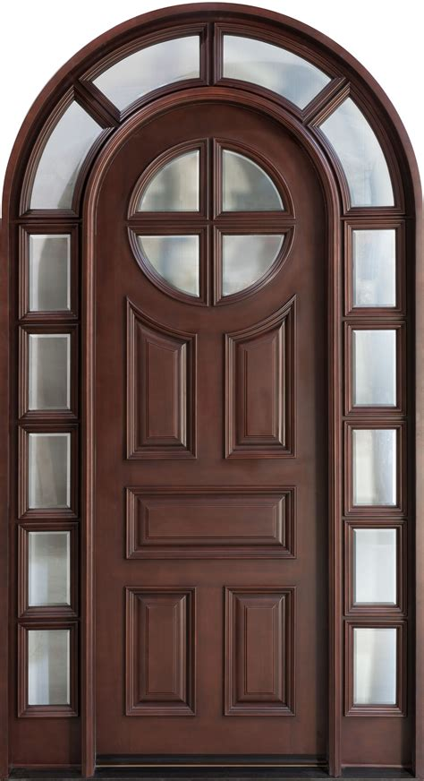 chokhat design front door custom single with 2 sidelites solid wood
