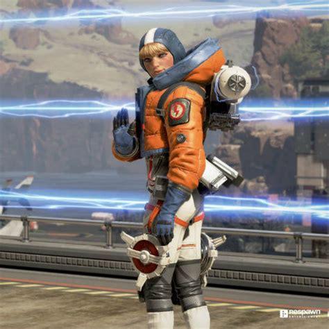 apex legends  character wattson  set  perimeter