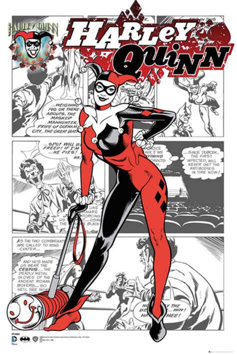 harley quinn at high dc books dc comics