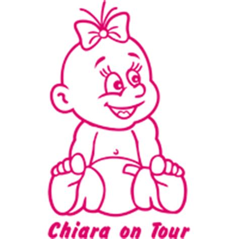 Aufkleber Baby An Board by Sticker Parade Baby An Bord
