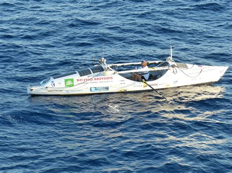 rowing boats australia fedor rowing happy to be in sight of australia