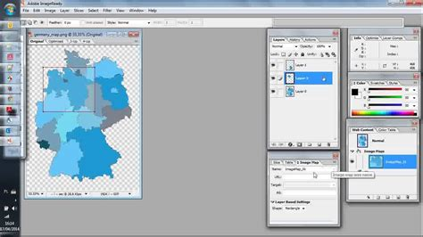 tutorial photoshop cs2 html image map in photoshop cs2 with image ready youtube