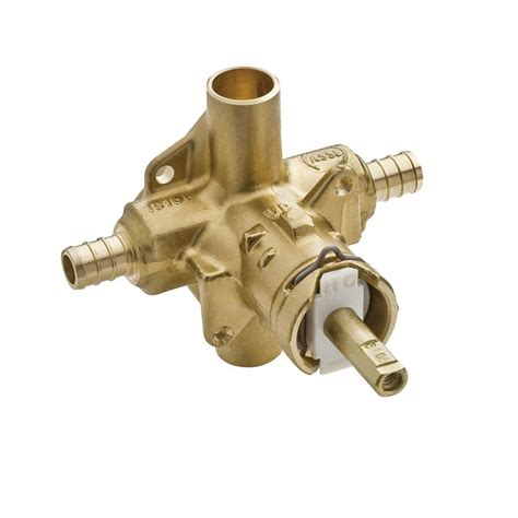Pressure Balancing Valve For Shower by Moen 2580 Positemp Pressure Balancing Shower Valve 1 2