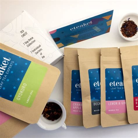 Tea Box Detox by Eteaket Seven Day Detox Collection Tea Chest By Eteaket