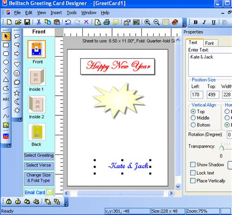 greeting cards software belltech greeting card designer v5 5 0 with key torrent