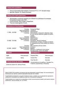 formatos de curriculum vitae 2014 curr 237 culum vitae modelo vino tienda de curriculum vitae