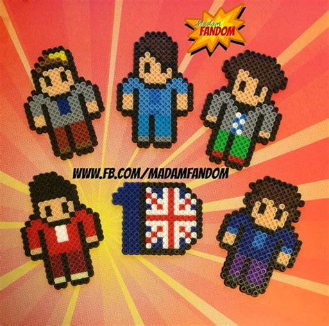 one direction perler pin by cristina medina on perler