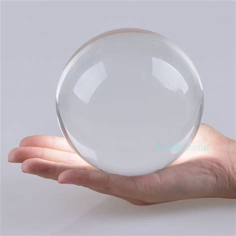 popular large glass sphere buy cheap large glass sphere
