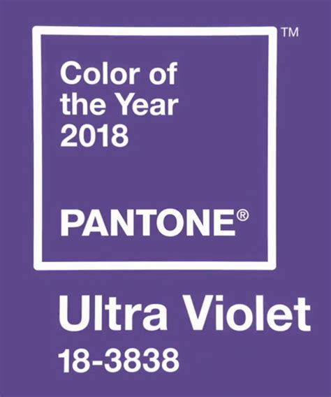 color of the year for 2017 pantone announces ultra violet as 2018 color of the year
