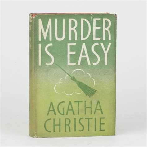 libro murder is easy agatha murder is easy by christie agatha jonkers rare books