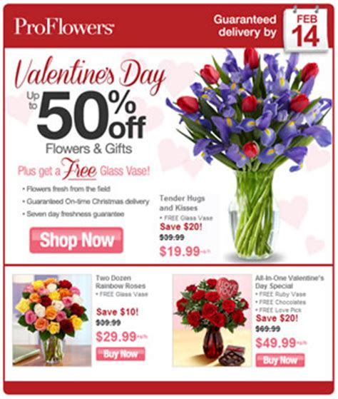 Proflowers Coupon Code Free Vase proflowers save up to 50 consumerqueen