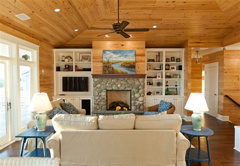 Wall Color Ideas Casual Cottage | beach house with casual coastal interiors home bunch