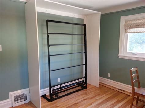 murphy bed diy renovations and old houses diy ikea murphy bed