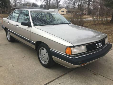 how cars engines work 1989 audi 80 instrument cluster 1989 audi 200 turbo sedan 50 000 original miles automatic for sale audi 200 turbo 1989 for