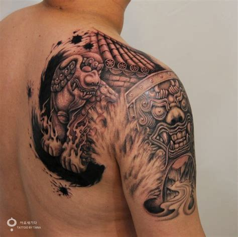tattoo korea facebook this is korean traditional shape which is called haetae or