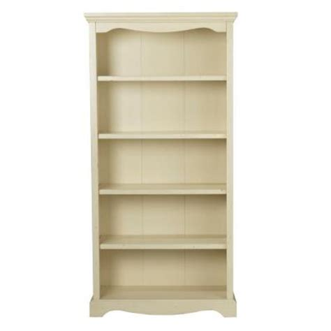 home decorators collection sheffield antique white 5 shelf