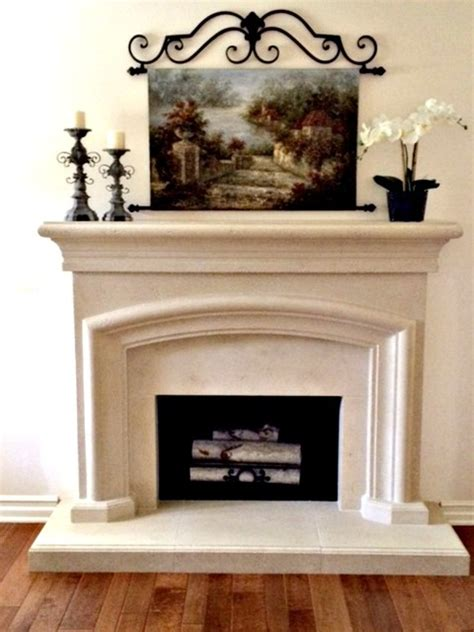 country fireplace mantels country cast mantel mediterranean