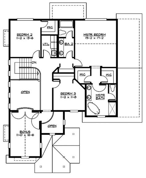 columbia floor plans columbia 3217 3 bedrooms and 2 baths the house designers