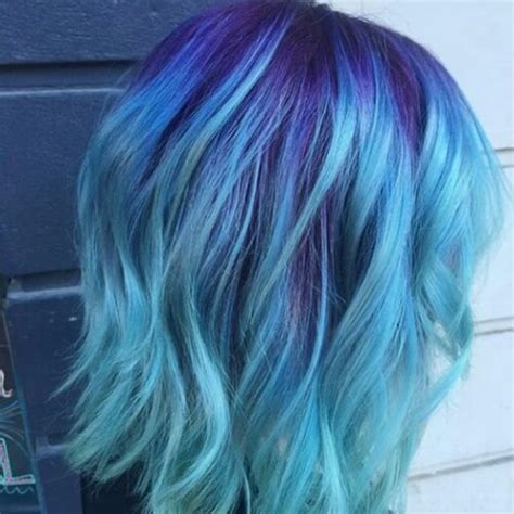 is ombre blue hair ok for older women 50 cool blue ombre 27 super cool blue ombre hairstyles