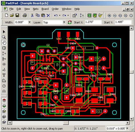 layout pcb software pcb designer electronic circuits
