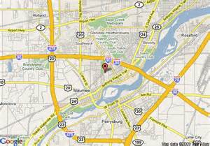 Maumee Ohio Map map of staybridge suites toledo maumee maumee