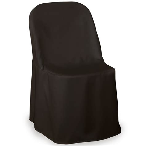 metal folding chair slipcovers premium folding poly chair covers for wedding party