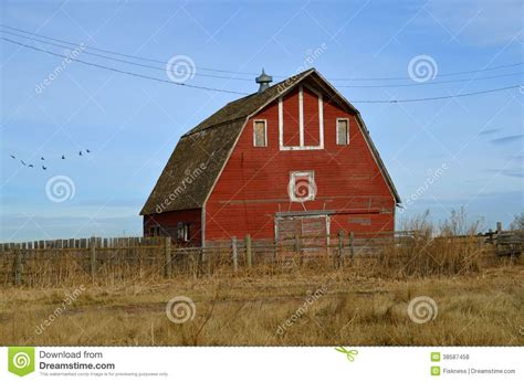 hip roof barn photos empty red hip roof barn royalty free stock photos image