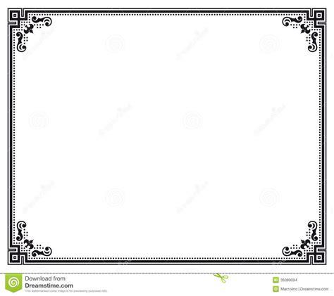 eps format full form certificate border vector it resume cover letter sle