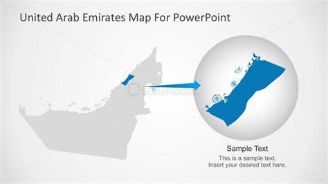 powerpoint templates uae uae editable map presentation slidemodel