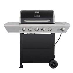 home depot gas grills nexgrill 5 burner propane gas grill in black with