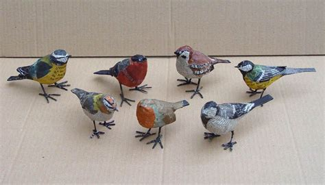 How To Make Paper Mache Birds - petits oiseaux aude amazing and beautiful birds