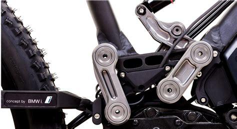 swing arm suspension design auto giant bmw develops next level e bike gear junkie
