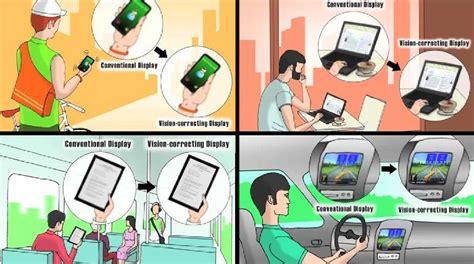 imagenes engaños visuales pantallas de dispositivos que corrigen los problemas de