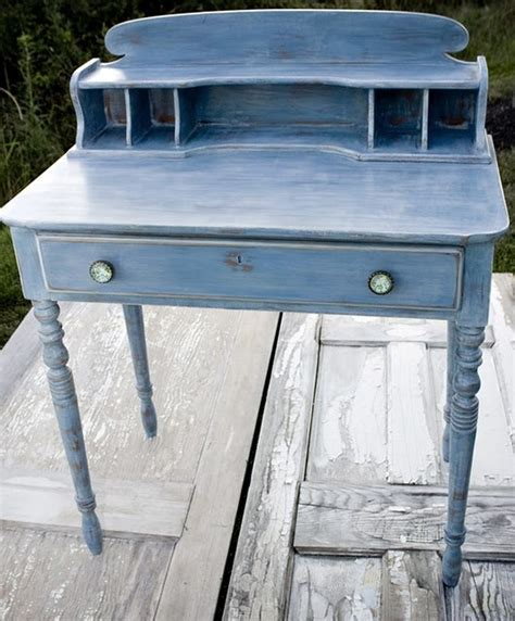 chalkboard paint sand between coats two coats ascp blue let sand wax and buff