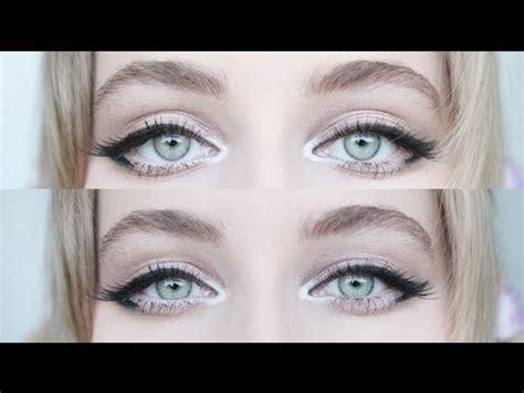 eyeliner tutorial for big eyes enlarging cat eye makeup for big eyes youtube
