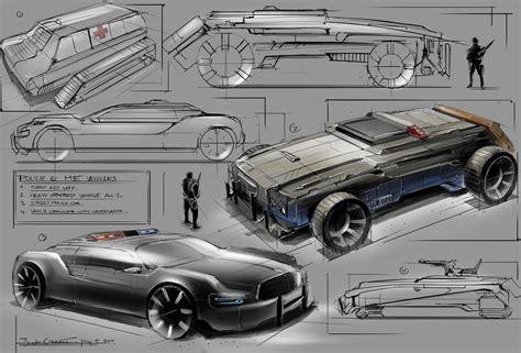 design vehicle game vehicles and props bart de graaff design