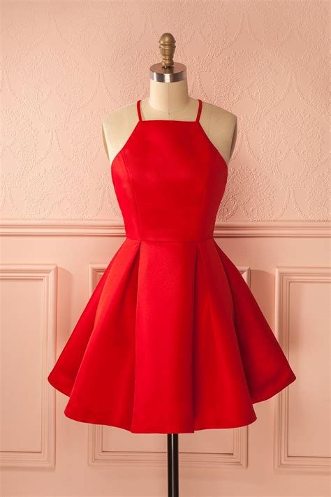 cute short red prom dressesa  homecoming dresses