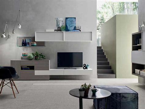 soggiorno grigio parete soggiorno moderno componibile grigio arredamenti