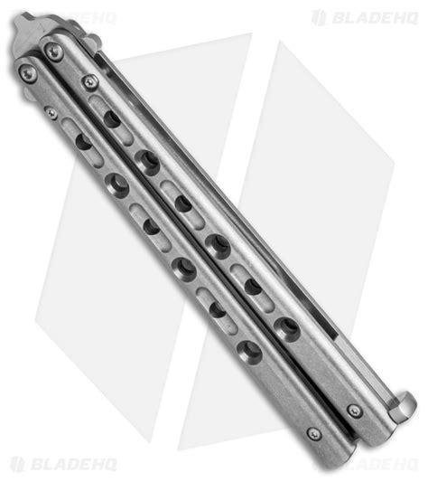 benchmade balisong 62 flytanium customized titanium benchmade 62 balisong knife