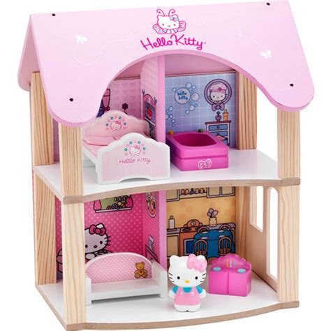 hello kitty doll house hello kitty summer house dollhouse walmart com